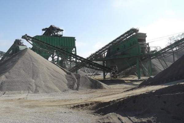 Separacija za proizvodnju agregata za beton od 0 - 4 , od 4 - 8 , od 8 - 15 i od 15 - 32