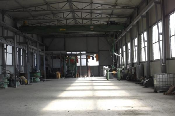 Factory for the production of concrete pipes, ø 800, 1000, 1200 and 1500 and cones